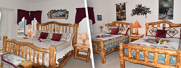 Our two bedrooms is great for your family or friends to stay