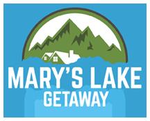 Marys Lake Getaway Logo